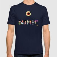 Planet Express Mens Fitted Tee Navy SMALL