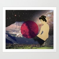 japan Art Prints featuring Japan by Blaz Rojs