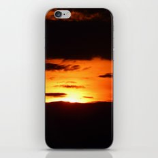 Natural Abstract Sunset iPhone & iPod Skin