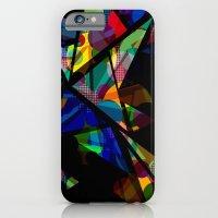 Geometric Splash iPhone 6 Slim Case