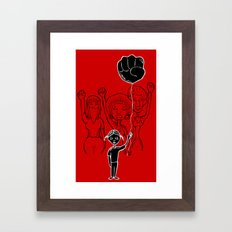 For Black Women Framed Art Print