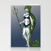 Water Warrior Stationery Cards
