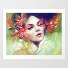 August Art Print