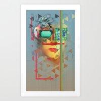 Warped Vision Art Print