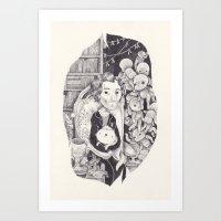 jed Art Print