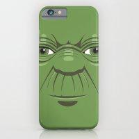iPhone & iPod Case featuring Yoda - Starwars by Alex Patterson AKA frigopie76