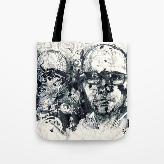 """Destroyed"" by Cap Blackard Tote Bag"