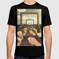 Empty Frame Mens Fitted Tee Black SMALL
