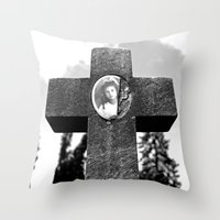 A Child's Memory Throw Pillow