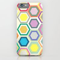 iPhone & iPod Case featuring Honeycomb Layers II by Cassia Beck