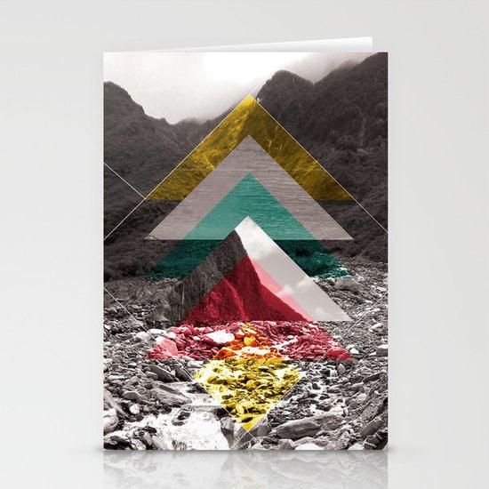 Sojourn series - Fox Glacier  Stationery Card