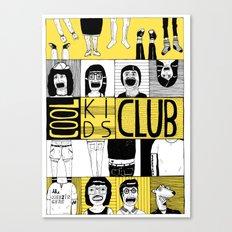 Cool Kids Club Canvas Print