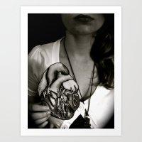 A Beating Heart Is Bette… Art Print