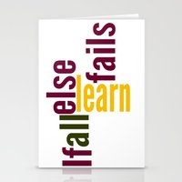 Learn Stationery Cards