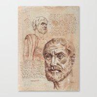 Aristotle Canvas Print