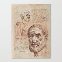 Aristotle Canvas Print