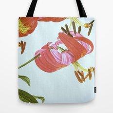 I. Vintage Flowers Botanical Print by Pierre-Joseph Redouté - Lilies Tote Bag