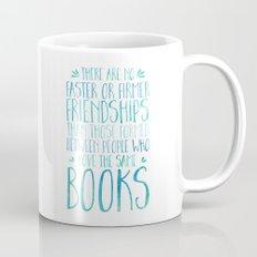 Bookish Friendship - Blue Mug