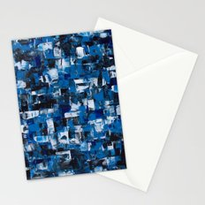 Blue Blade Painting Stationery Cards