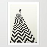 Twin Peaks Minimalist Po… Art Print