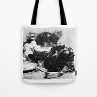 Baxter  |  The Cat That Lives With Me Tote Bag