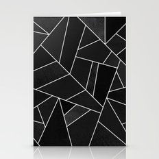 Black Stone Stationery Cards