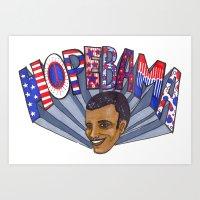 HopeBAMA Art Print