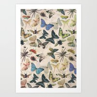Insect Jungle Art Print