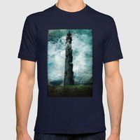 The Dark Tower Mens Fitted Tee Navy SMALL