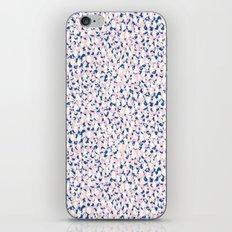 Pink splatter iPhone & iPod Skin