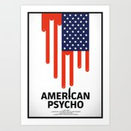 Art Print featuring American Psycho by Chris Thornley
