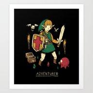 Art Print featuring Adventurer by Louis Roskosch