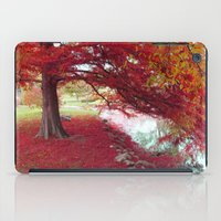 Red Autumn  iPad Case