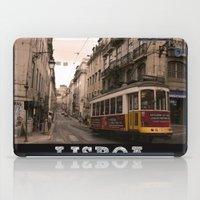 LISBOA STREETCAR iPad Case