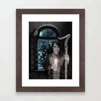 Spirit Of The Winter Solstice Framed Art Print