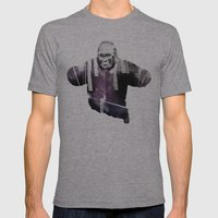 Big Animal Mens Fitted Tee Athletic Grey SMALL