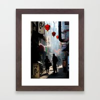 An Afternoon in Kobe, Japan Framed Art Print