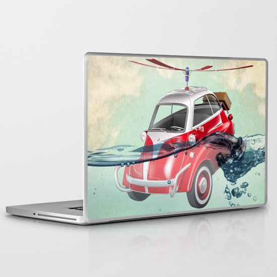 Isetta  all terrain vehicle Laptop & iPad Skin