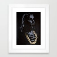 My Jesus Chain Framed Art Print