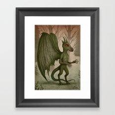 Jersey Devil Framed Art Print