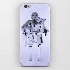 Trooper with Kids iPhone & iPod Skin