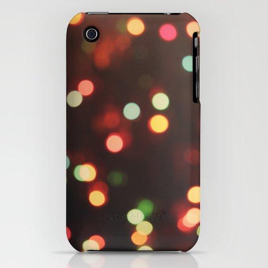 Christmas Lights iPhone & iPod Case