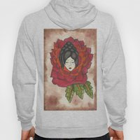 Lady in Rose Hoody