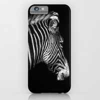 White Stripes Black Stripes iPhone 6 Slim Case