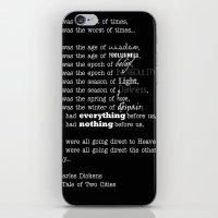 A Tale  iPhone & iPod Skin