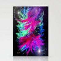 Funky Nebula Stationery Cards