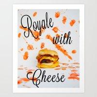 Pulp Fiction- Royale Wit… Art Print