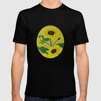 Sunny and bright Mens Fitted Tee Black SMALL