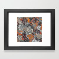 Relief Framed Art Print