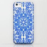 Cobalt Blue & China Whit… iPhone 5c Slim Case